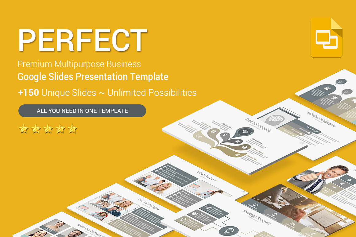 Business Strategy Google slides Template Themes