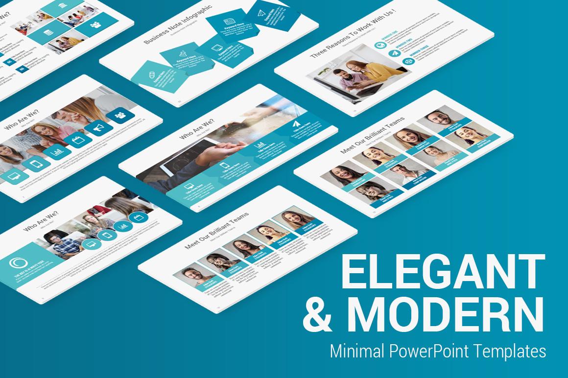 Elegant Minimalist PowerPoint Template