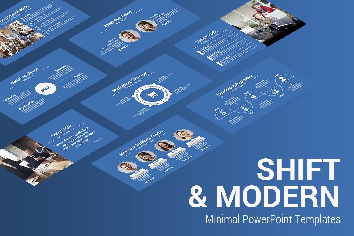 Minimal PowerPoint PPT Template
