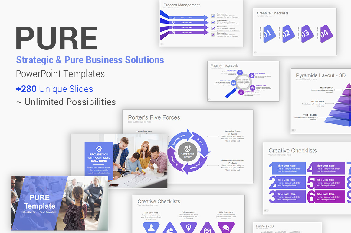 Strategic Business Solutions PowerPoint Template