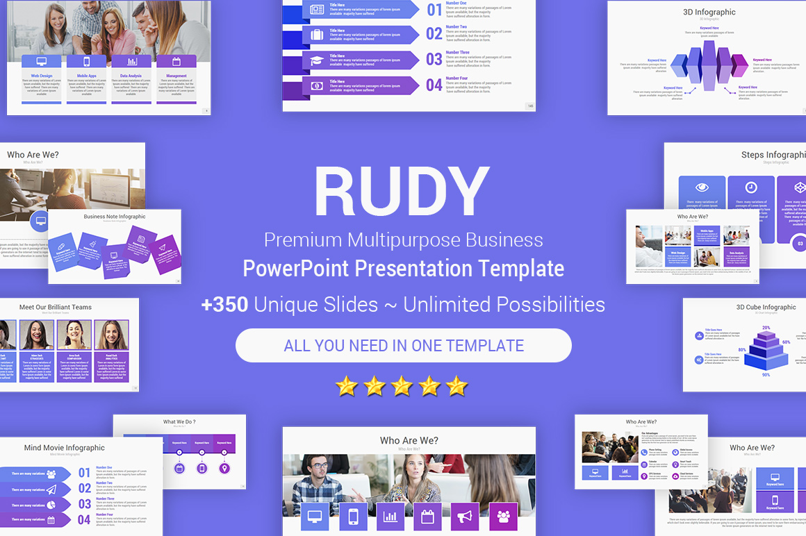 Creative PowerPoint Templates of 2019