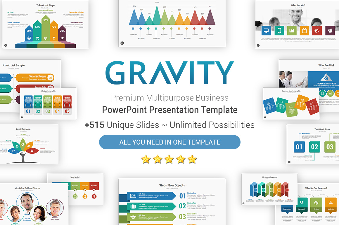 Gravity Best PowerPoint Presentation Template