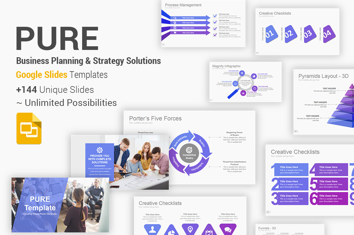 Business Planning and Strategy Google Slides Template Theme