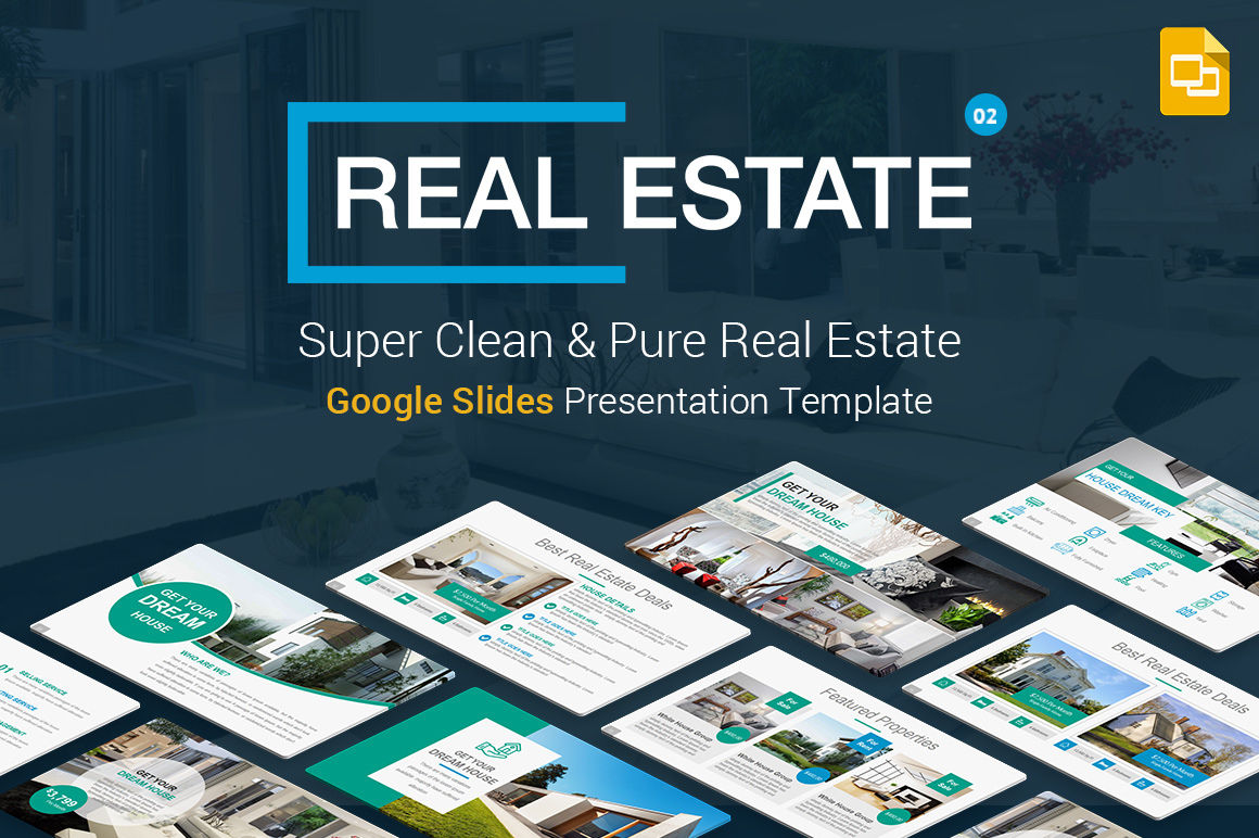 Real Estate Google Slides Presentation Template