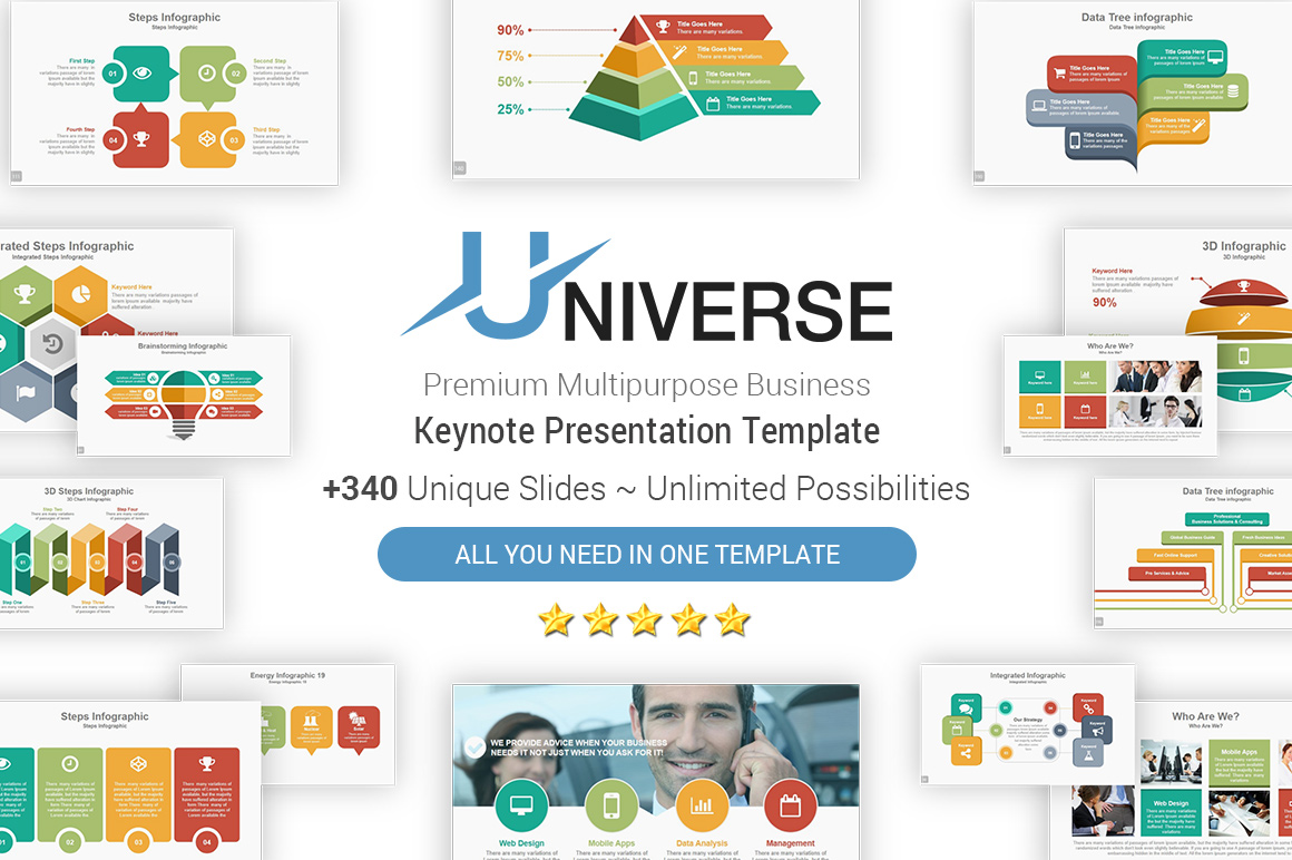 Top Multipurpose Keynote Templates