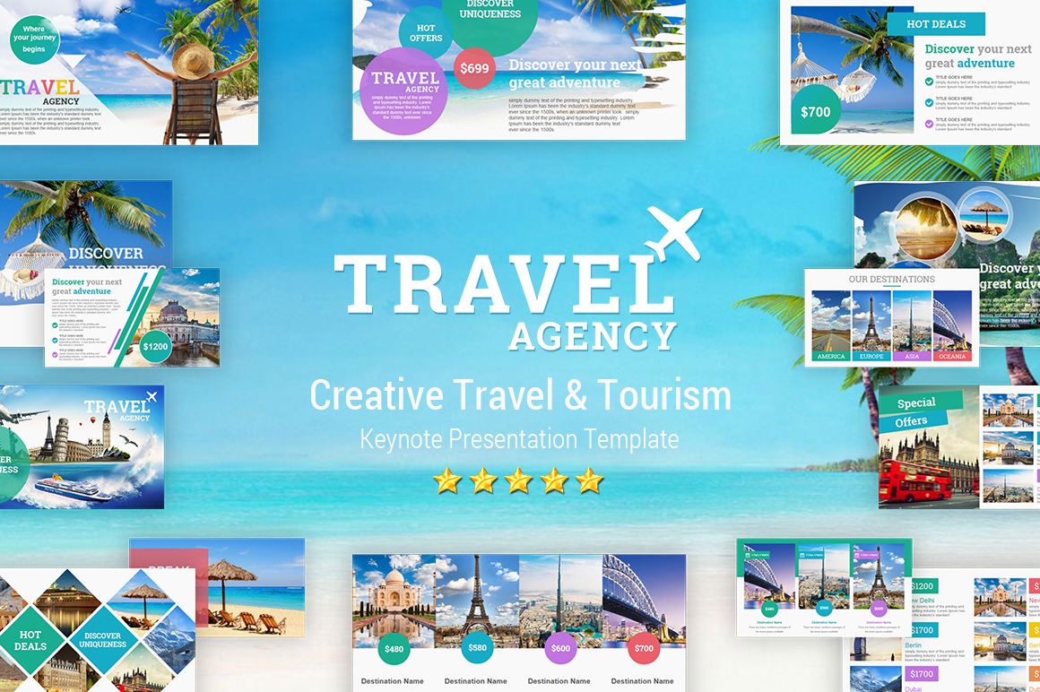 Travel and Tourism Keynote Presentation Template