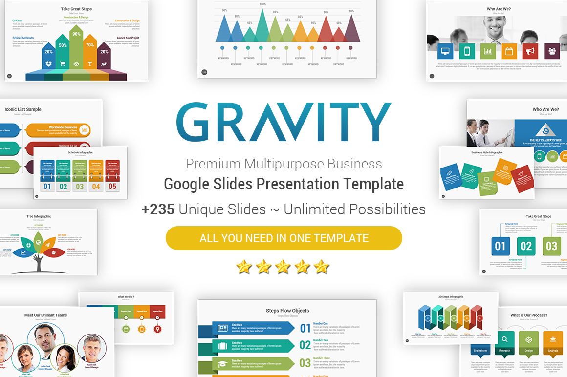 Top Google slides Themes Templates