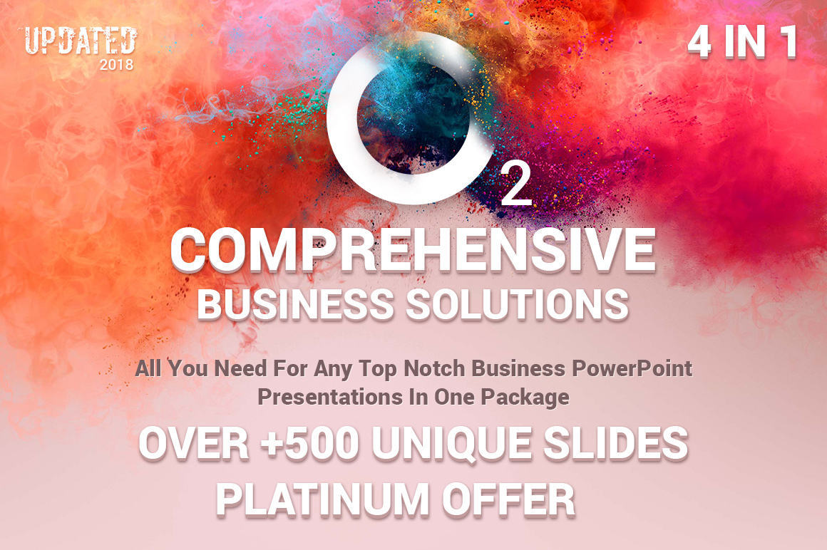 business top powerpoint templates bundle