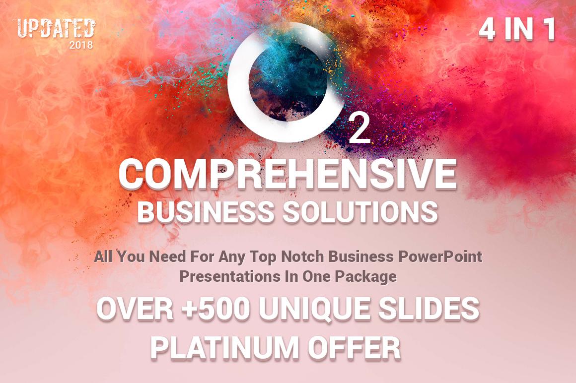 business top powerpoint templates bundle